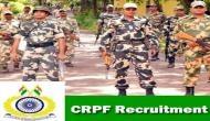CRPF में नौकरी का शानदार अवसर, 75,000 रुपये मिलेगी सैलरी